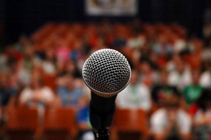لرزش بدن در سخنرانی,جلوگیری از لرزش بدن در سخنرانی