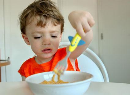 افزایش میل کودکان به خوردن,بالا بردن میل کودکان به خوردن