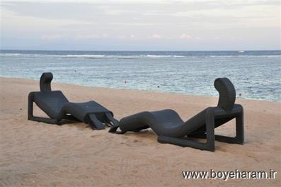 مبل افتابگیر,مدل مبل ساحلی افتابگیر