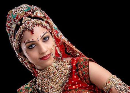 آرایش عروس,رازهای زیبایی عروس خانم ها در شب عروسی