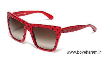عینک آفتابی خالدار زنانه دولچه اند گابانا بهار و تابستان