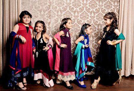 خوشکلترین مدل های لباس دخترانه,خوشکلترین لباس های هندی