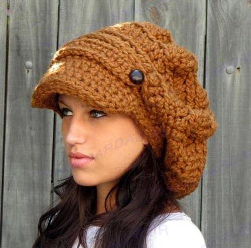 مدل کلاه دست بافت دخترانه,کلاه دست بافت,آموزش کلاه دست بافت