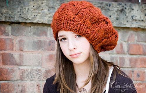 آموزش کلاه قلاب بافی دخترانه,آموزش گام به گام بافتنی