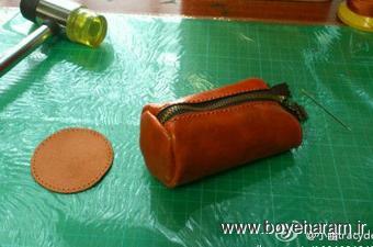 ساخت کیف چرم,ساخت کیف با چرمعآموزش کیف سازی