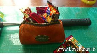 دوخت کیف چرمی,کیف دوزی,آموزش کیف چرمین