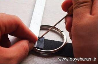 دستبند سازی,آموزش دستبند چرم,ساخت دستبند با چرم