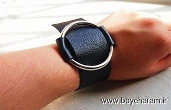 بافت دستبند,دستبند چرم,ساخت دستبند چرمی