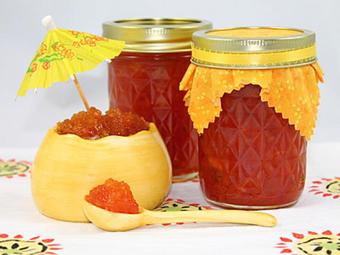 مربای آناناس,ساخت مربای آناناس,پخت مربای آناناس,Pineapple Jam