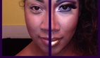 آموزش برجسته و بزرگ کردن لب با آرایش