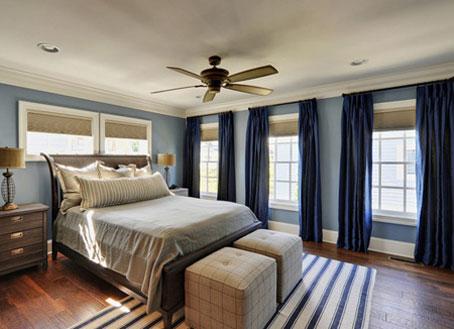 آموزش دکوراسیون آبی اتاق,دکوراسیون آبی رنگ منزل,دکوراسیون آبی خانه