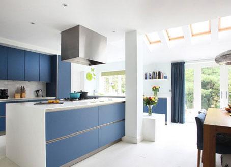 مدل های جدید چیدمان خانه,چیدمان آبی اتاق ها,دکوراسیون آبی اتاق ها