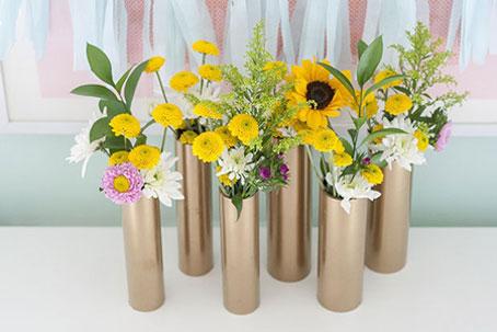 ساخت گلدان,آموزش ساخت گلدان,ساخت گلدان فانتزی,ساخت کاردستی تزئینی