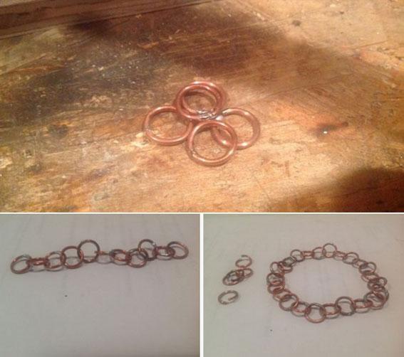 آموزش ساخت دستبند,ساخت دستبند سیمی,ساخت دستبند با سیم