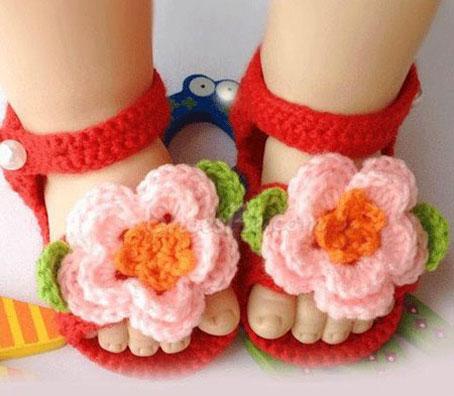 کفش دست بافت دخترانه,کفش دست بافت بچه گانه