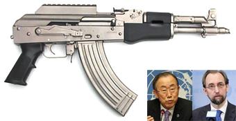 سلاح سبک,استفاده از سلاح سبک,تولید سلاح سبک فاجعه بشری است