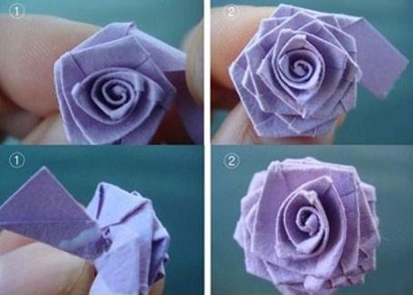 آموزش ساخت انواع گل,ساخت گل کاغذی,روش ساخت گل کاغذی,آموزش ساخت گل کاغذی