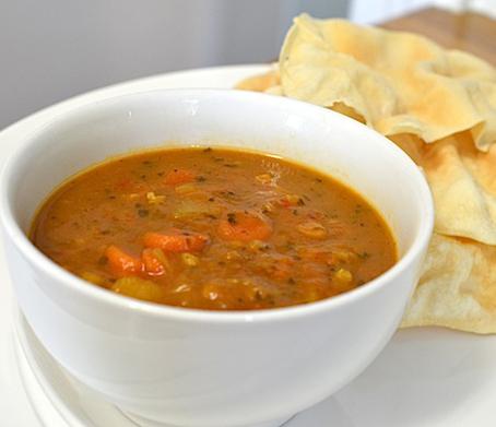 آموزش درست کردن سوپ عدس,روش درست کردن سوپ عدس,سوپ دال عدس,پخت سوپ دال عدس