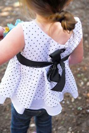 دوخت لباس شیک دخترانه,سایت خیاطی,دوخت لباس کودک