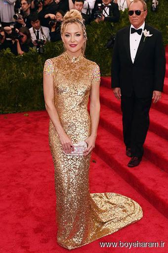 Kate Hudson در مراسم مت گالا Met Gala 2015
