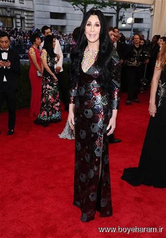 Cher  در مراسم مت گالا Met Gala 2015
