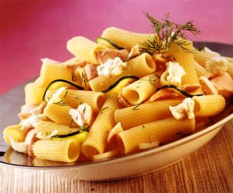 پخت پاستا لوله ای,طرز تهیه پاستا لوله ای,آموزش پاستا پزی