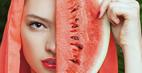 آموزش ساخت ماسک هندوانه برای سفیدی پوست