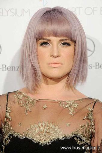 مدل رنگ موی جدید,مدل موی بازیگران ,رنگ موی بازیگران هالیوود,Kelly Osbourne