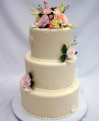 کیک عروس زیبا,کیک عروسک گل دار,تصاویر کیک عروس شیک