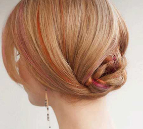 جمع کردن موها,روش جمع کردن مو,بستن مو