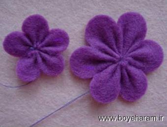 آموزش تل سازی,آموزش گل سر سازی,ساخت تل,ساخت گل سر
