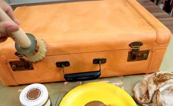 درست کردن سبد مسافرتی, تعمیر چمدان قدیمی
