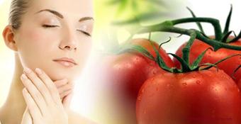 گوجه و پوست,سلامت پوست با گوجه,شفاف کردن پوست باگوجه