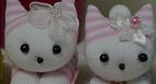آموزش ساخت عروسک گربه با جوراب سری جدید