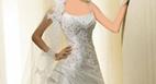 آموزش دوخت پیراهن عروس با الگو