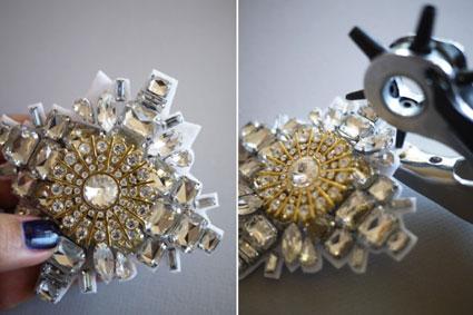 ساخت کاردستی تزئینی با کریستال,مدل های گردنبند کریستالی