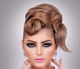 آرایش لب عروس,جدیدترین مدل های آرایش عروس