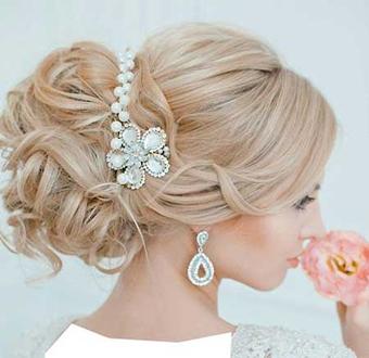 خوشکلترین مدل های آرایشی عروس,ارایش عروس,مدل ارایش عروس