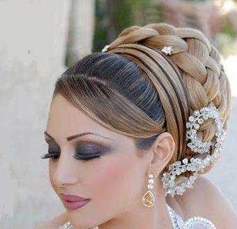 آرایش عروس,مدل آرایشی عروس,مدل جدید آرایشی عروس