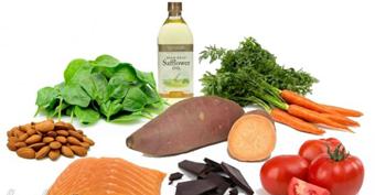 خوراکی های برنزه کننده پوست,اثرات خوردنی ها بر پوست