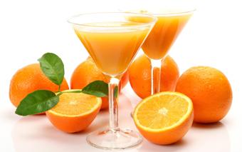 آب پرتقال,تاثیر آب پرتقال بر چاقی,اثرات آب پرتقال برچاقی شکم
