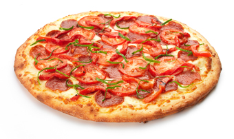 پیتزا,تاثیر پیتزا بر چاقی,اثرات پیتزا بر چاقی,پیتزای گوجه فرنگی