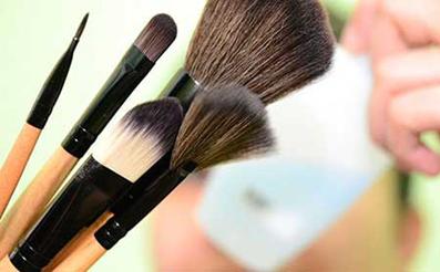 قلم مو,قلم آرایش,قلم موی آرایش,آرایش با قلم مو,آرایش محو با قلم مویی