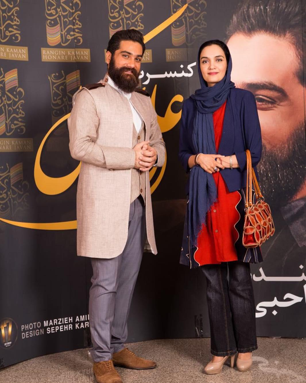 تصاویر میترا حجار به همراه همسرش,عکس میترا حجار به همراه همسرش