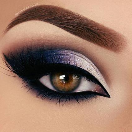 میکاپ انواع چشم,آموزش میکاپ چشم گوددار,آرایش چشم گوددار