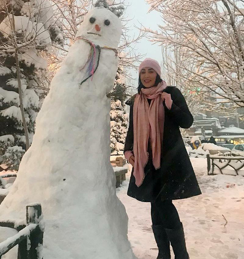 عکس بازیگران زن در زمستان,جدیدترین عکس های بازیگران زن