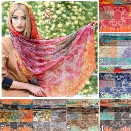 مدل جدید روسری,مدل های جدید روسری ایرانی,مدل های جدید شال ایرانی