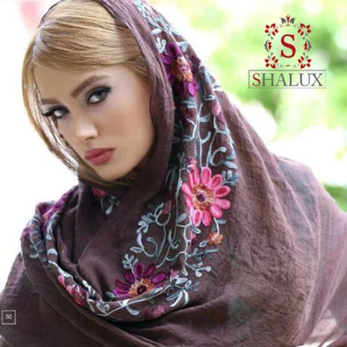 مدل های جدید روسری ایرانی,مدل های جدید شال ایرانی