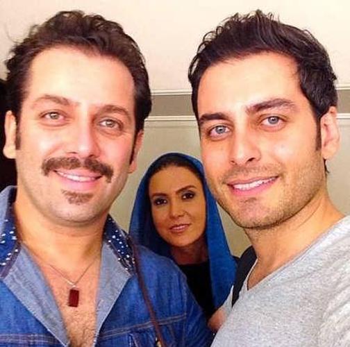 تصاویر خانوادگی احمد پورخوش,عکس های خانوادگی احمد پورخوش
