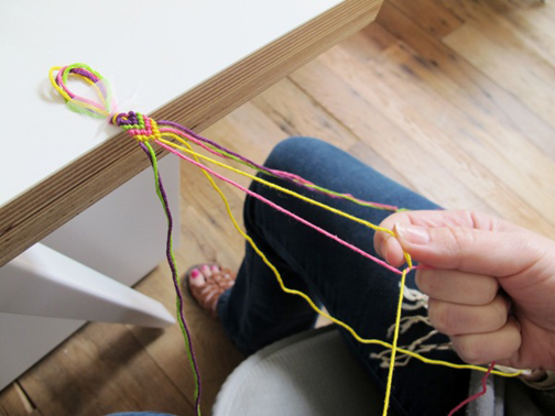 روش ساخت دستبند,روش ساخت دستبند دوستی
